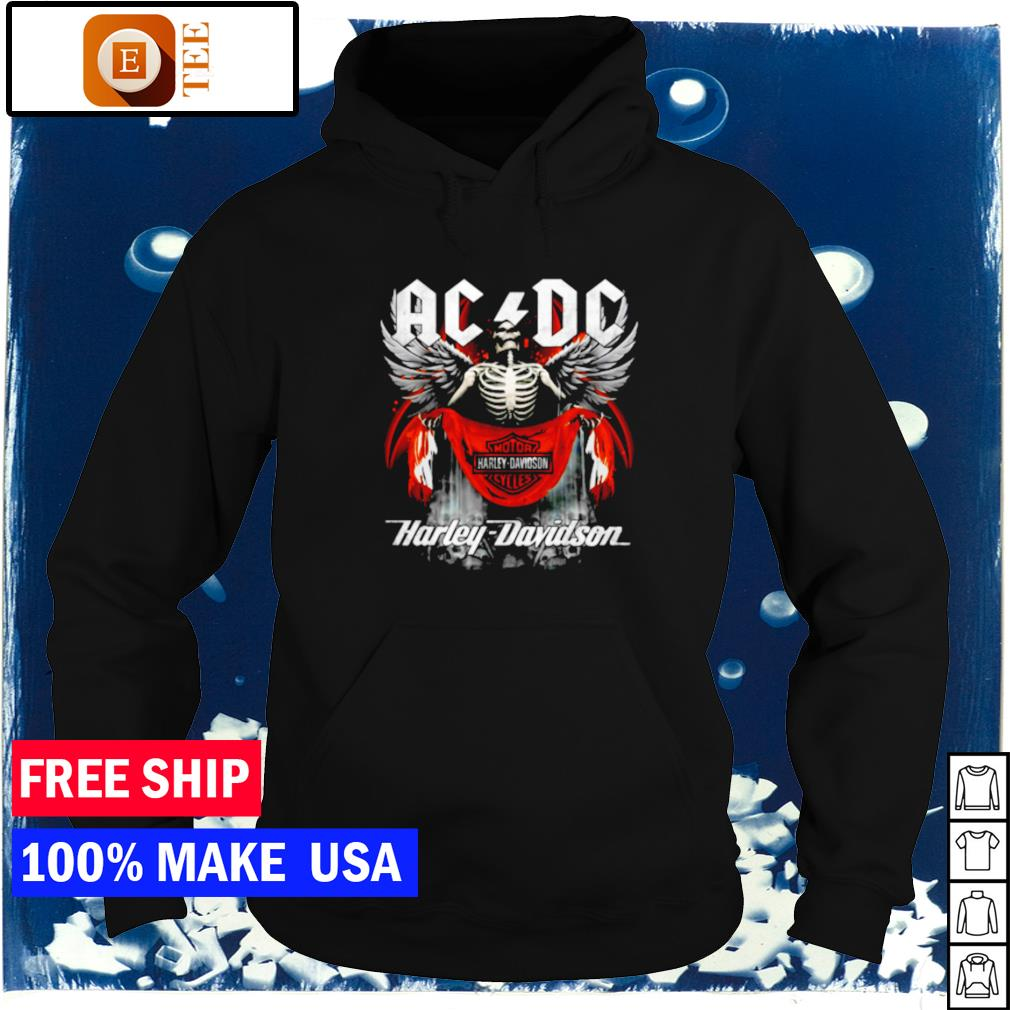 AC DC Death Motor Harley Davidson Cycles s hoodie