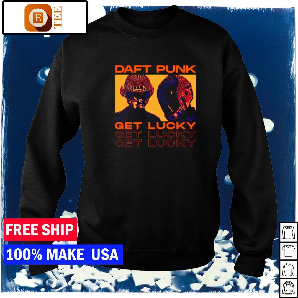 Daft Punk get lucky s sweater