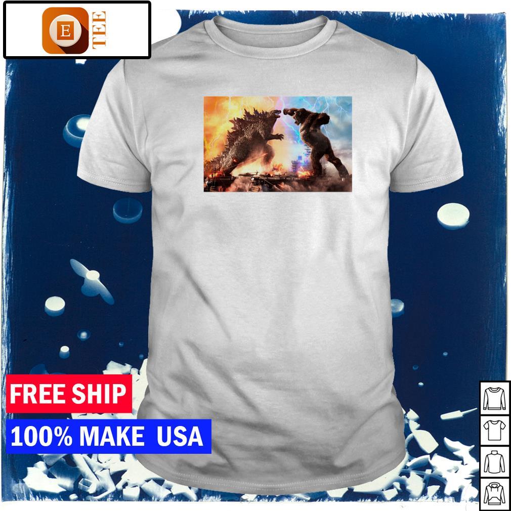 Godzilla vs King Kong 2021 funny shirt
