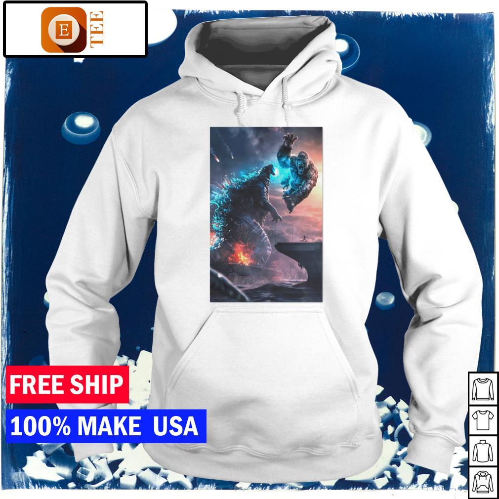 Godzilla vs King Kong s hoodie