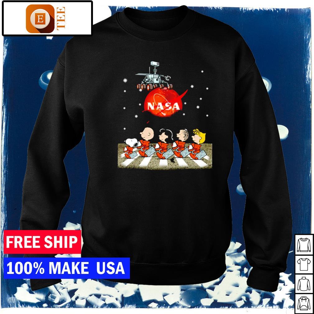 Nasa Mars perseverance Snoopy Abbey Road s sweater