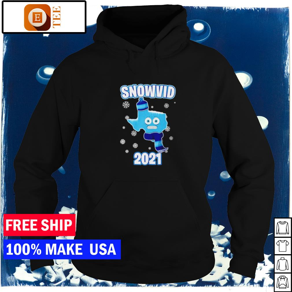 Snow Texas snovid 2021 s hoodie