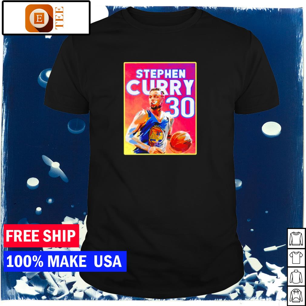 Steph Curry number 30 Golden State Warriors signature shirt