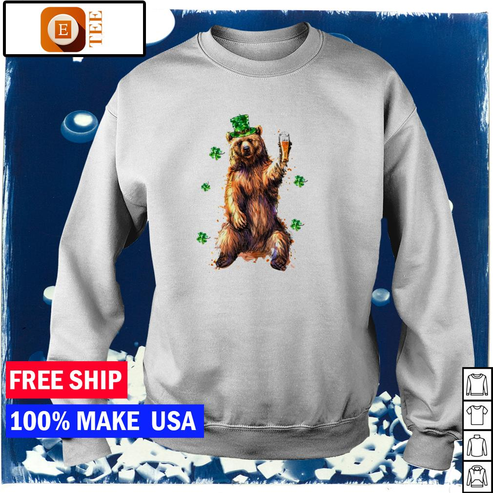 Beer drinking beer happy St Patrick's Day s sweater