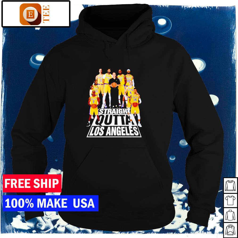 Los Angeles Lakers straight outta Los Angeles NBA s hoodie