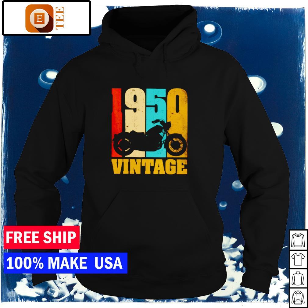 Motorcycle 1950 vintage s hoodie