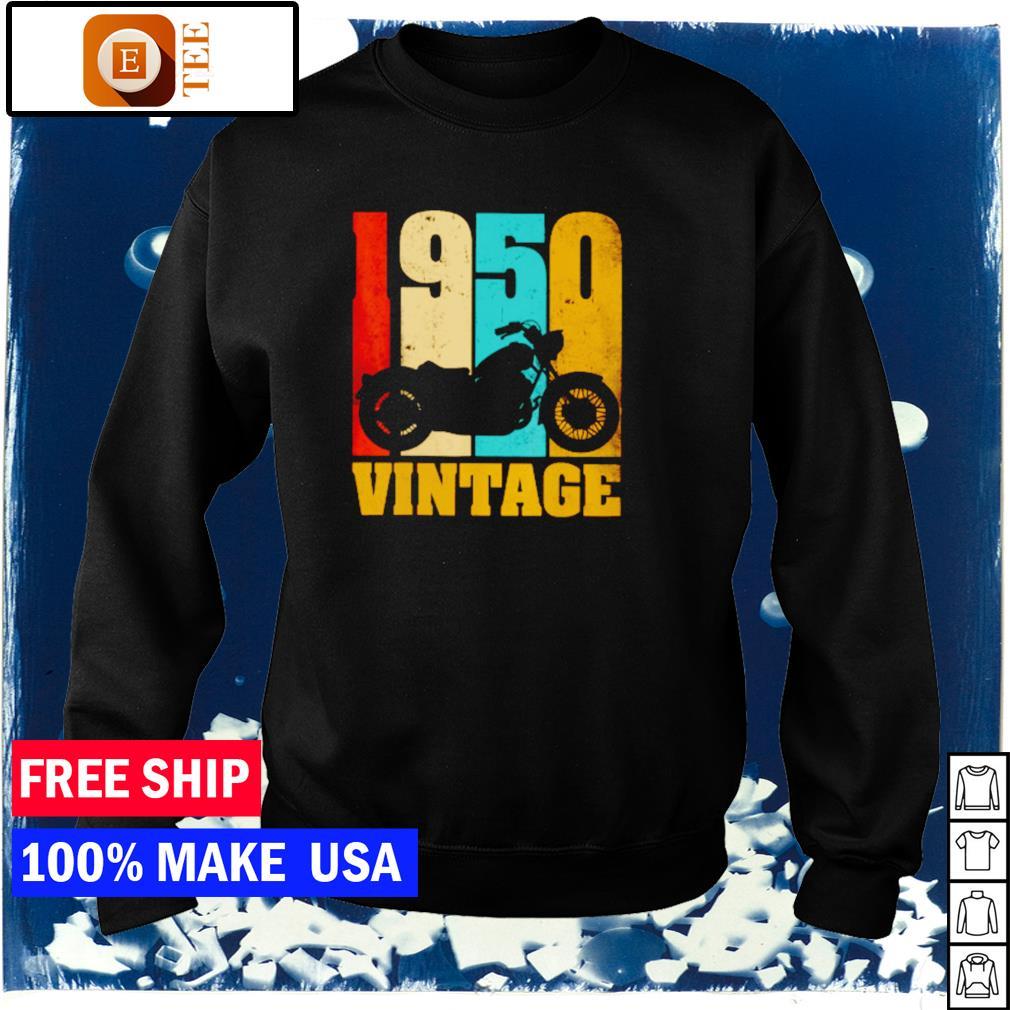 Motorcycle 1950 vintage s sweater