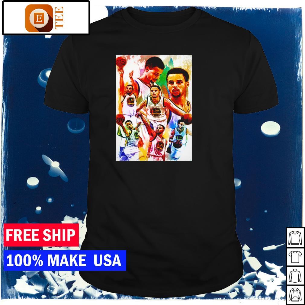Oakland Warriors Steph Curry NBA shirt