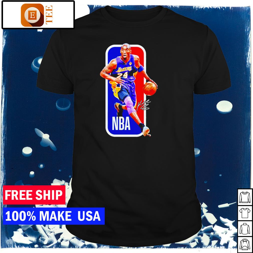 RIP Kobe Bryant Los Angeles Lakers number 24 NBA signature shirt