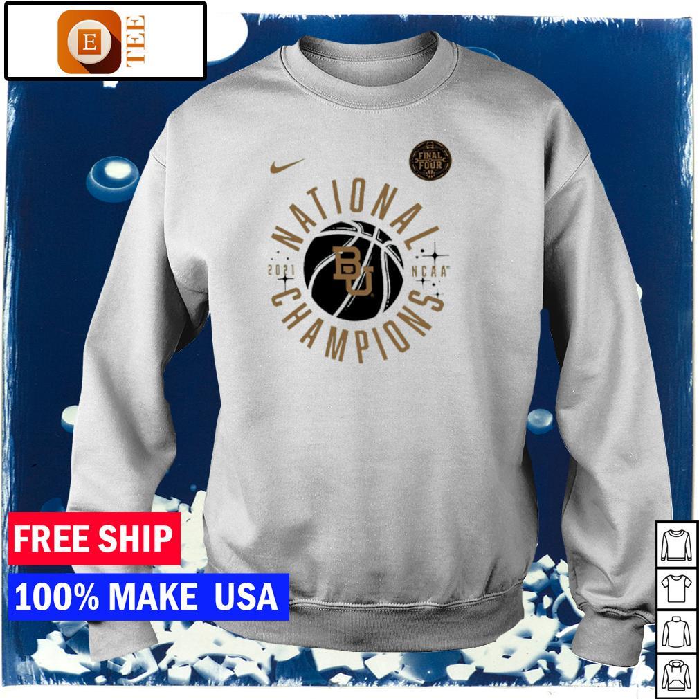 Nike 2021 NCAA Men's Basketball National Champions Baylor Bears s sweater