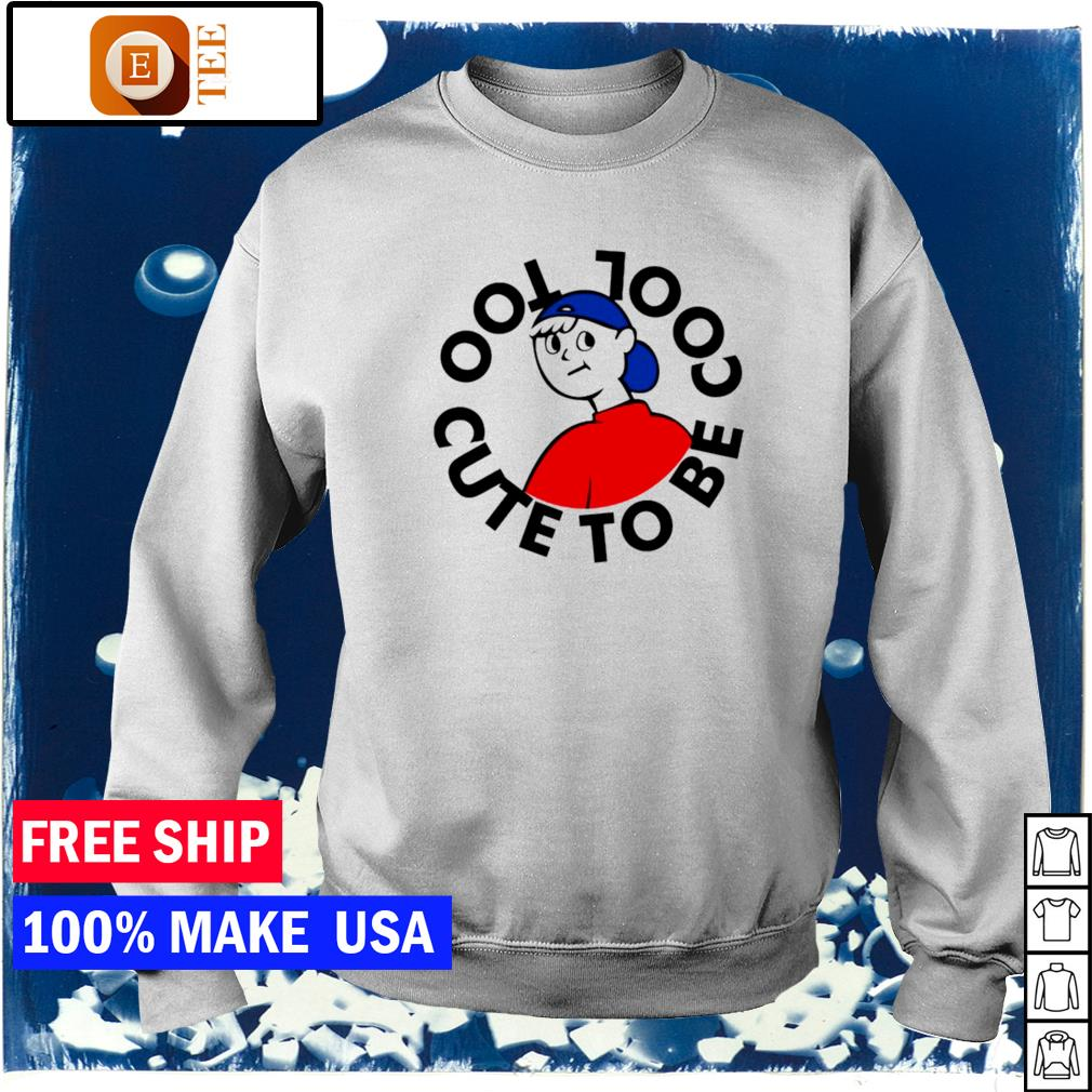 Too cute to be cool s sweater