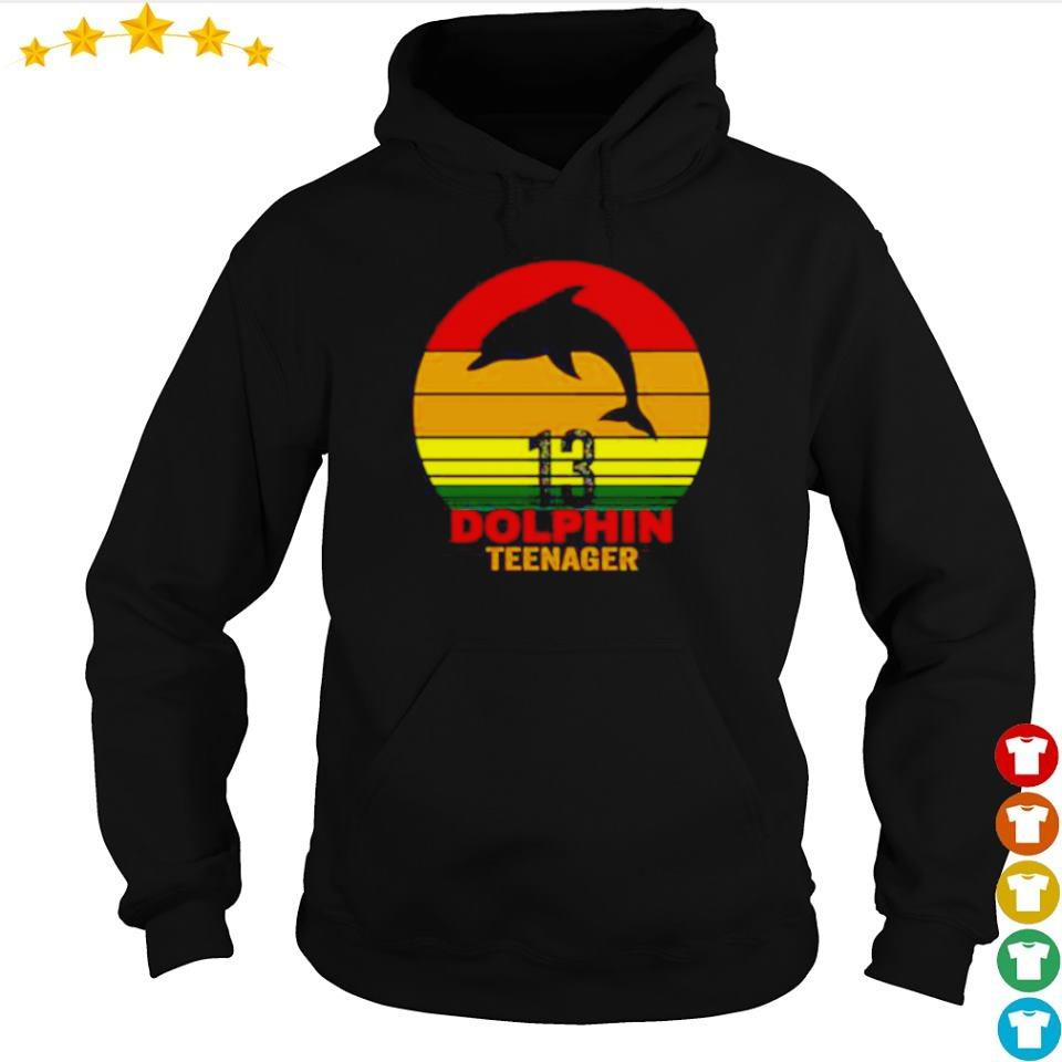 13 Dolphin Teenager s hoodie