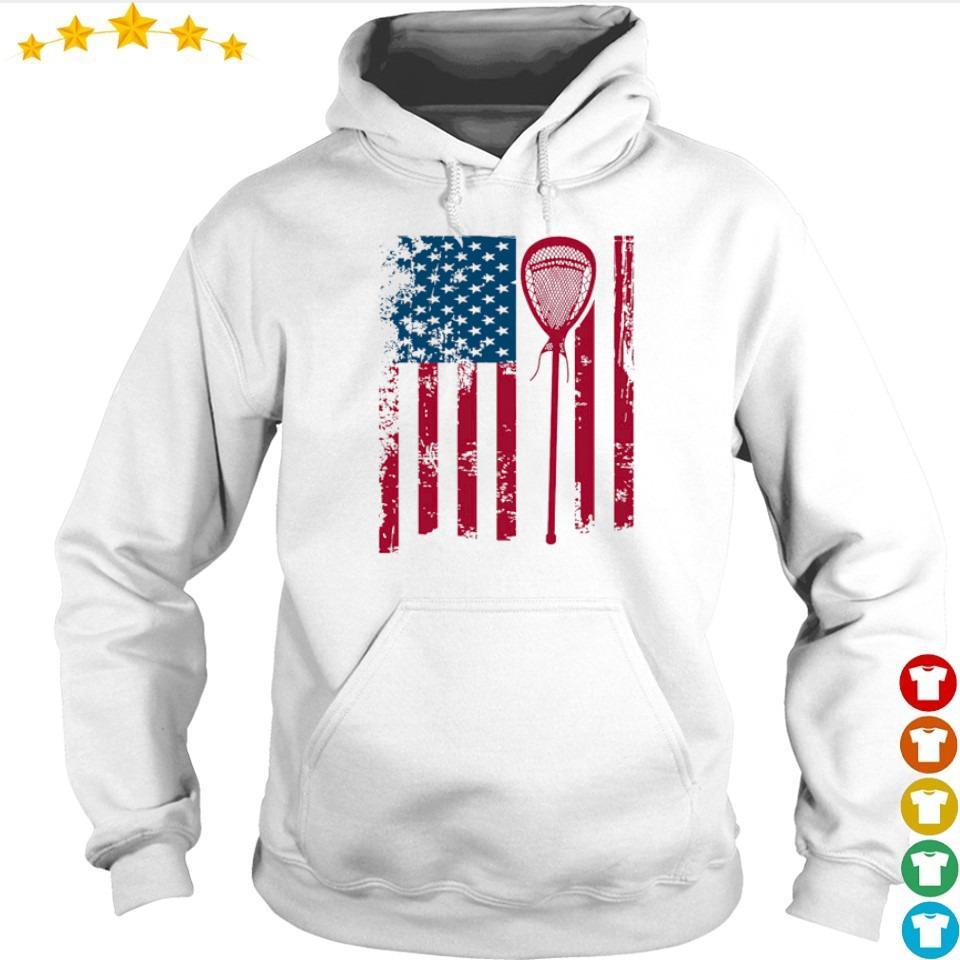 American Flag Softball s hoodie