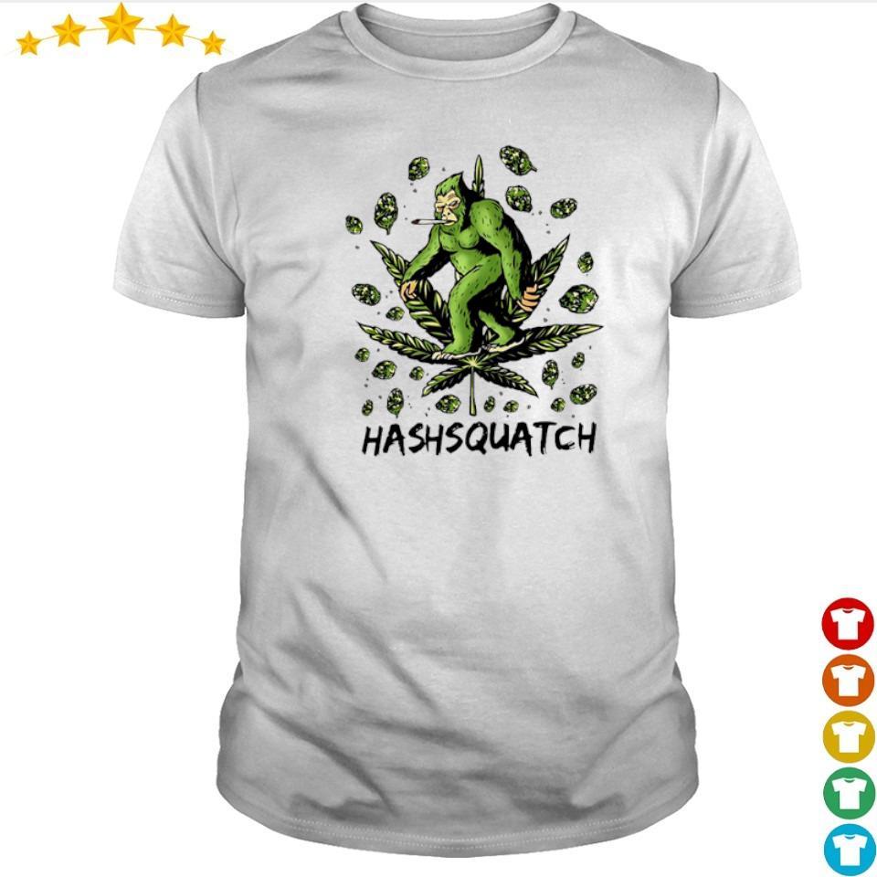 Awesome Bigfoor Hashsquatch shirt