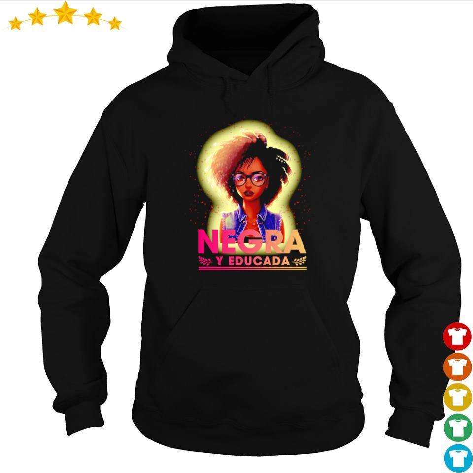 Awesome Negra Y Educada s hoodie