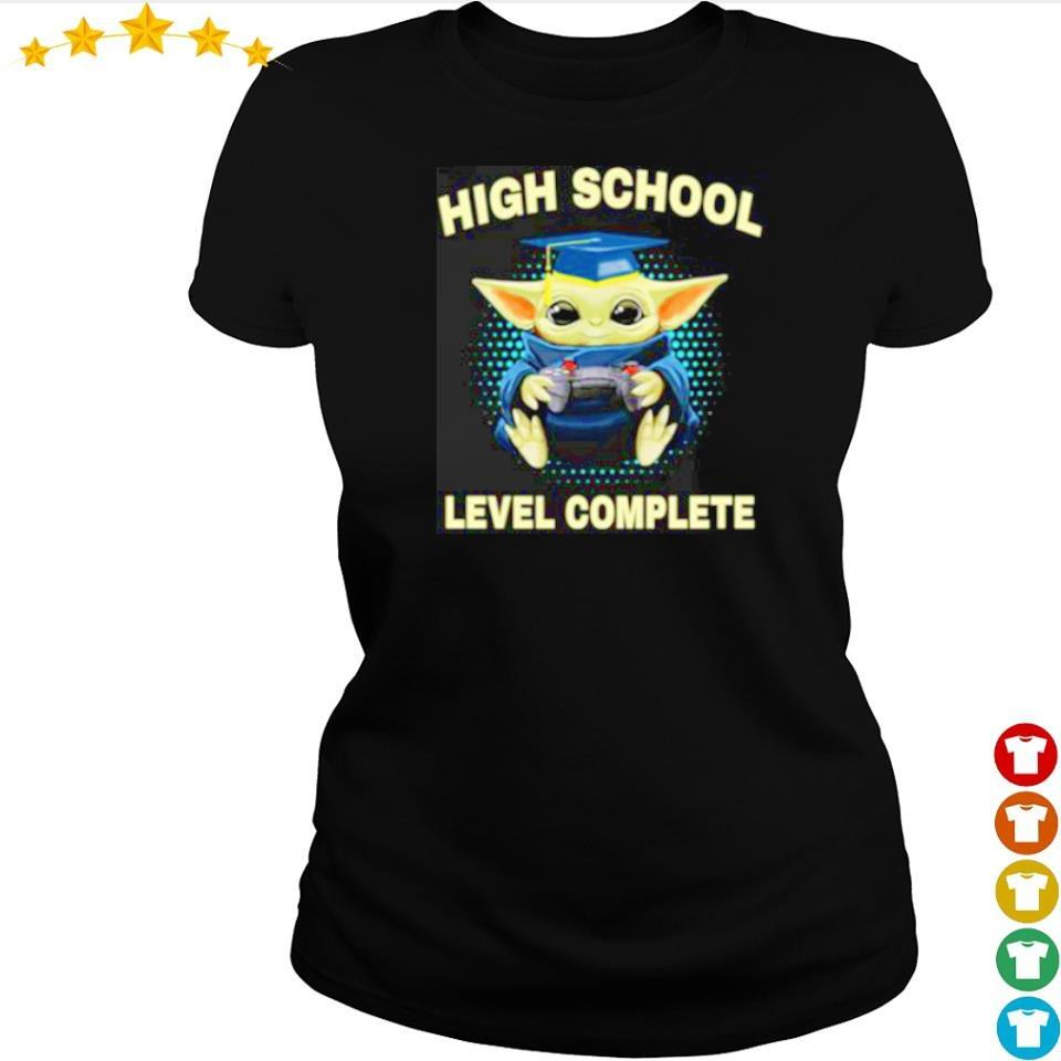 Baby Yoda high school level complete s ladies tee