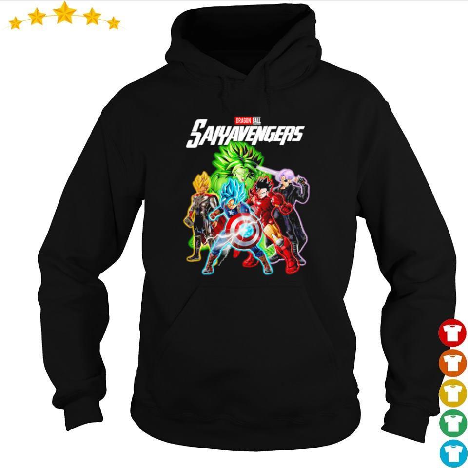 Dragon Ball Saiyavengers s hoodie