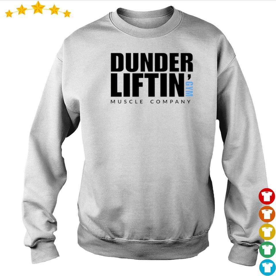 Dunder Liftin' GYM muscle company s sweater