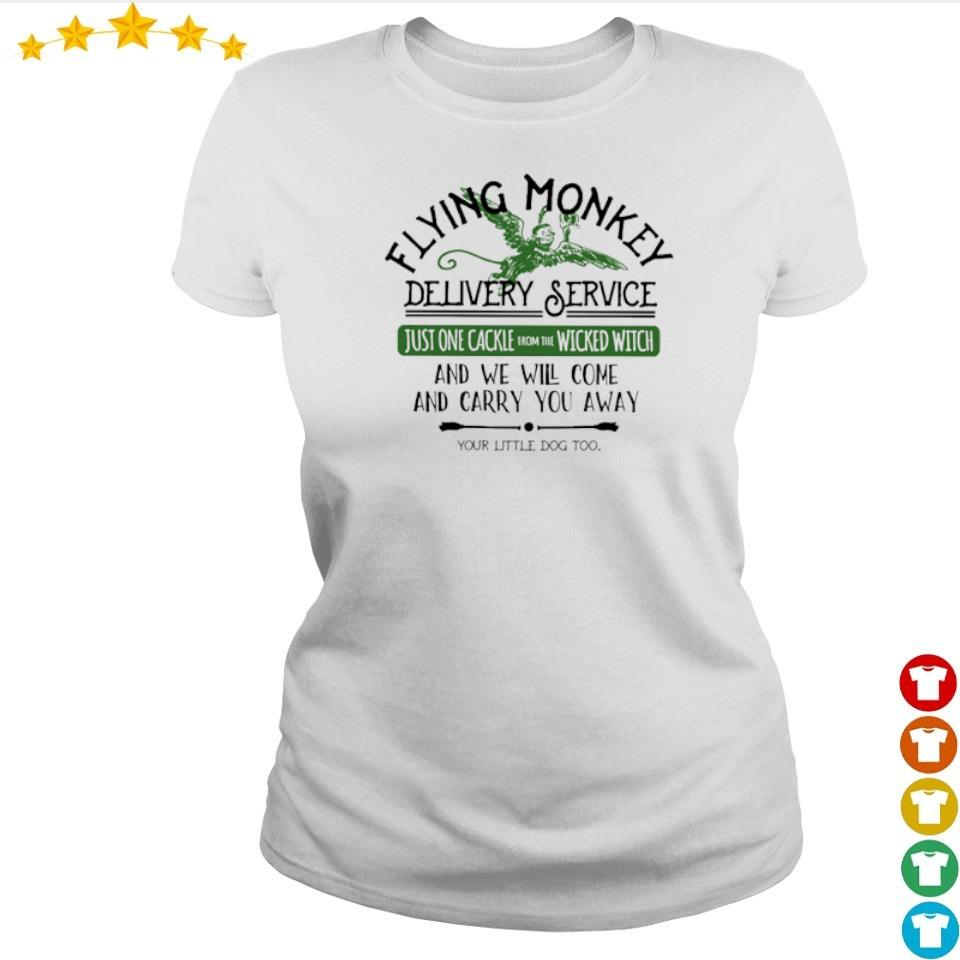 Flying money delivery service just one cackle wicked witch s ladies