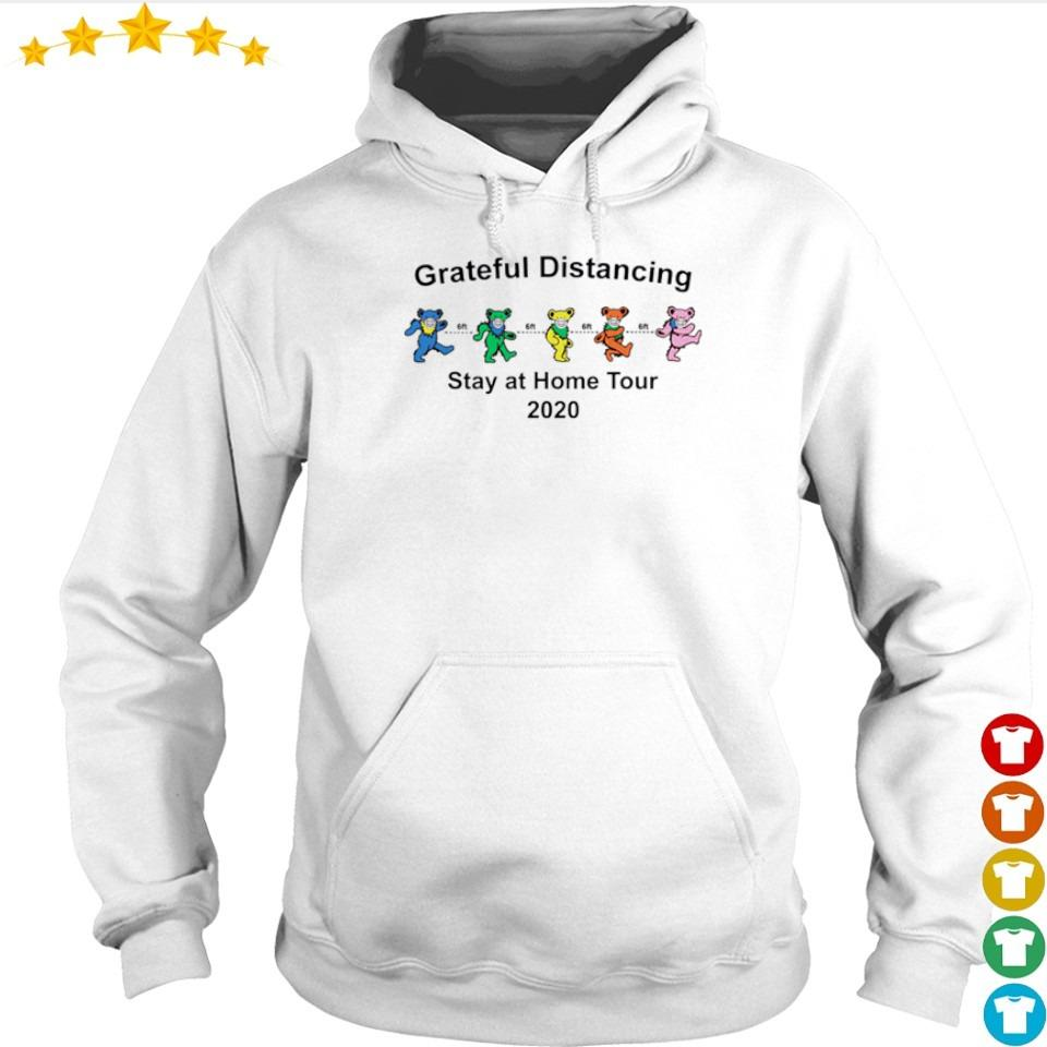 Grateful Distancing stay at home tour 2020 s hoodie