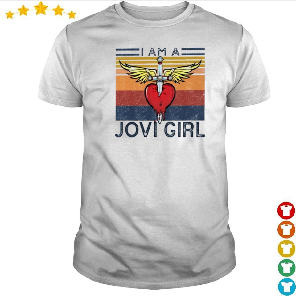 I am a Jovi Girl vintage shirt