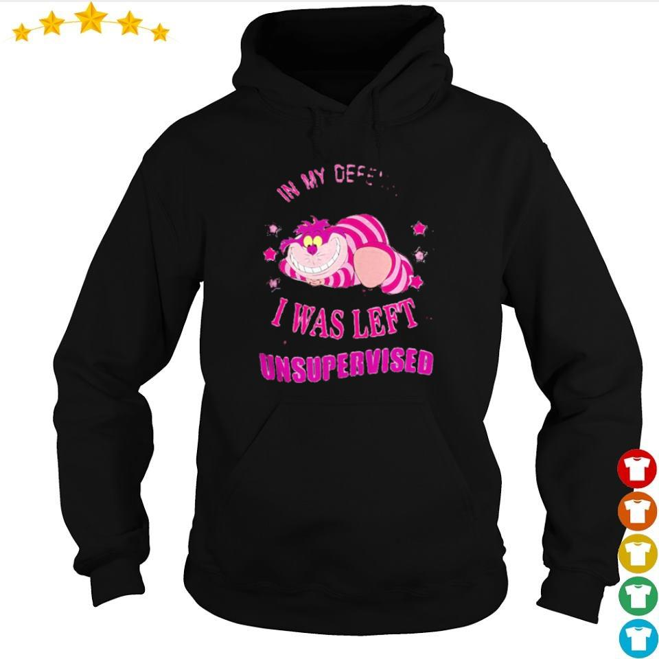 In my defend I was left unsupervised s hoodie