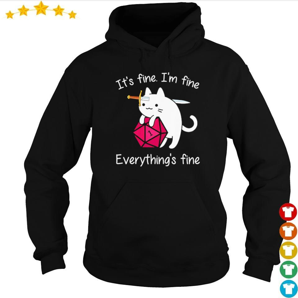 It's fine I'm fine everything's fine s hoodie