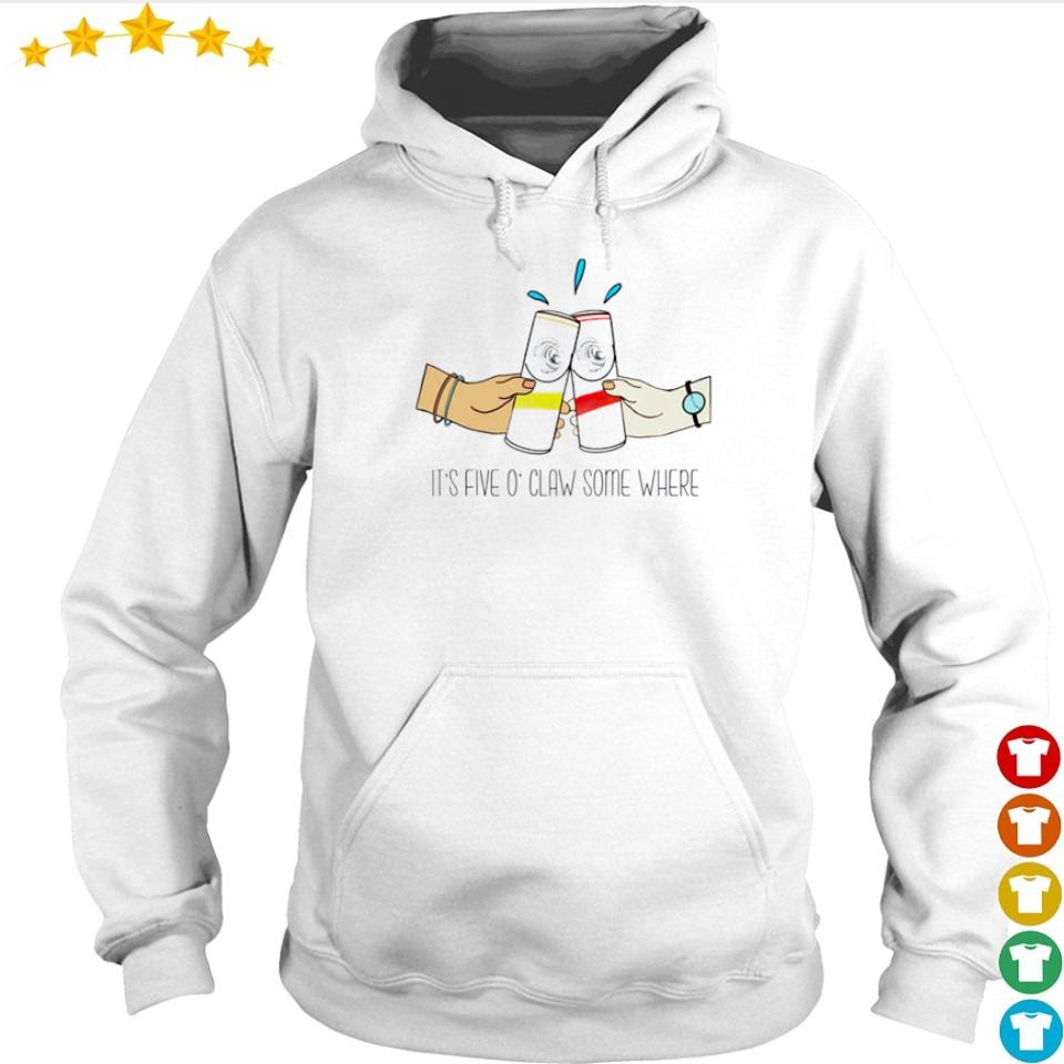 It's five O'Claw some where s hoodie