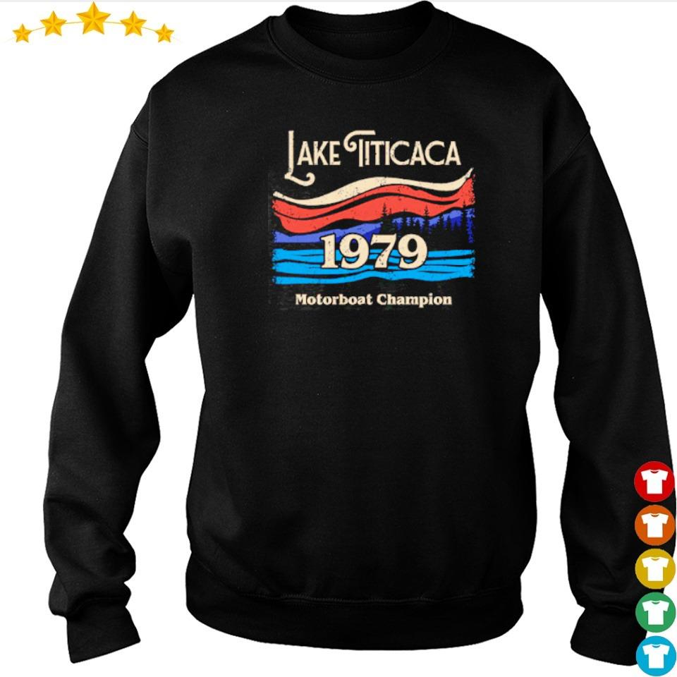 Lake Titicaca 1979 motorboat champion s sweater