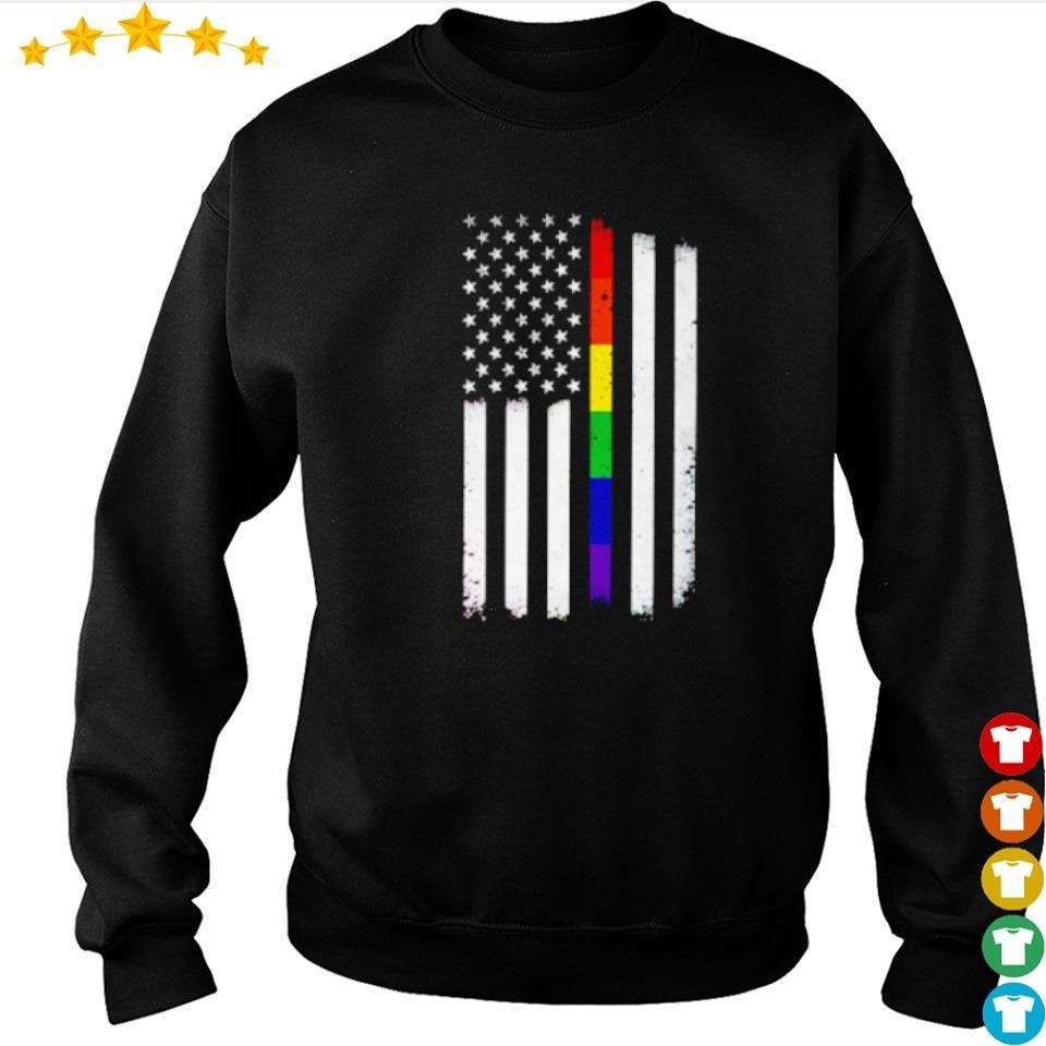 LGBT American Flag s sweater