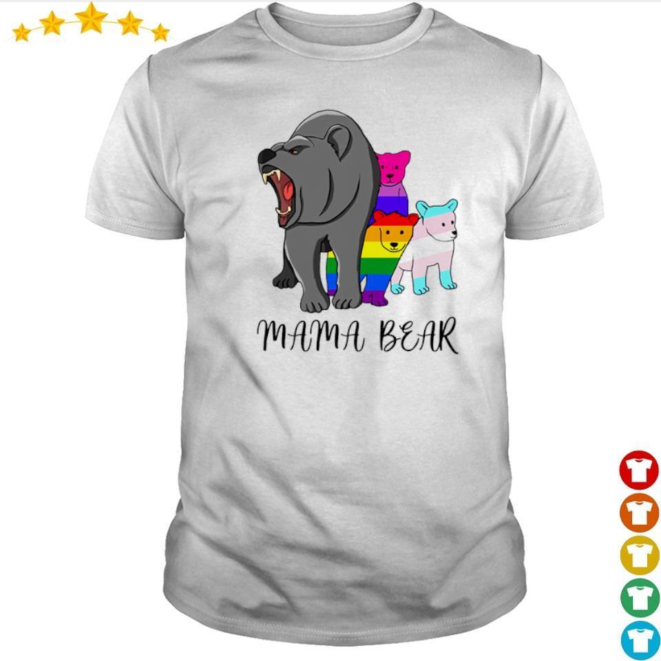 LGBT pride mama bear shirt