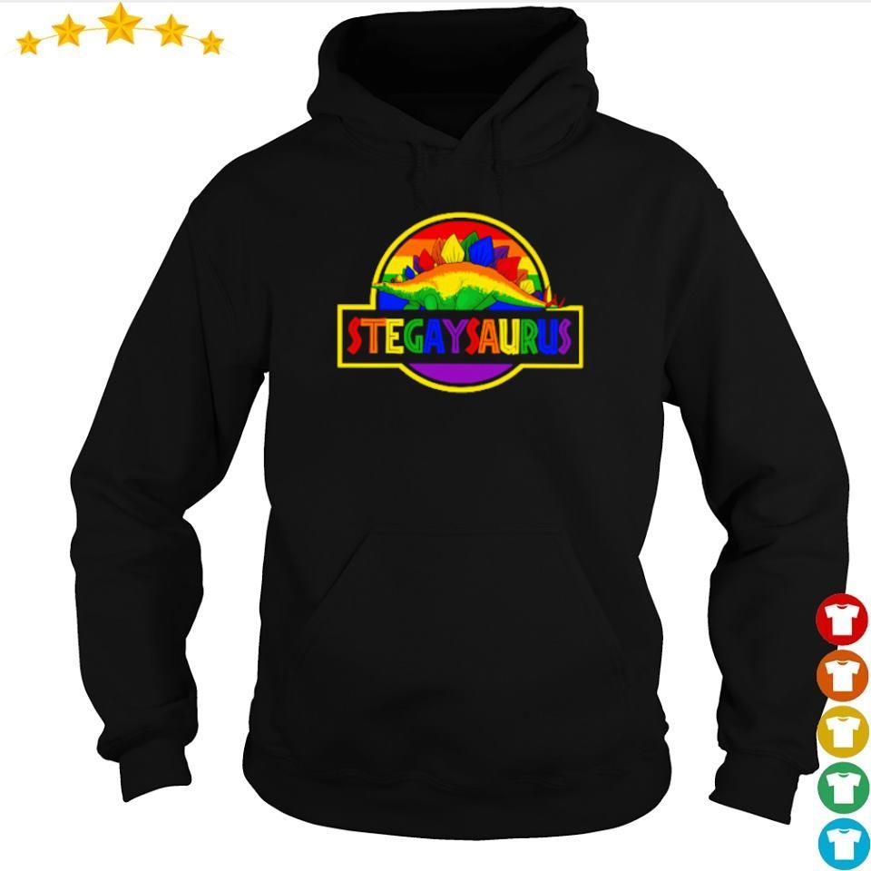 LGBT Stegaysaurus s hoodie