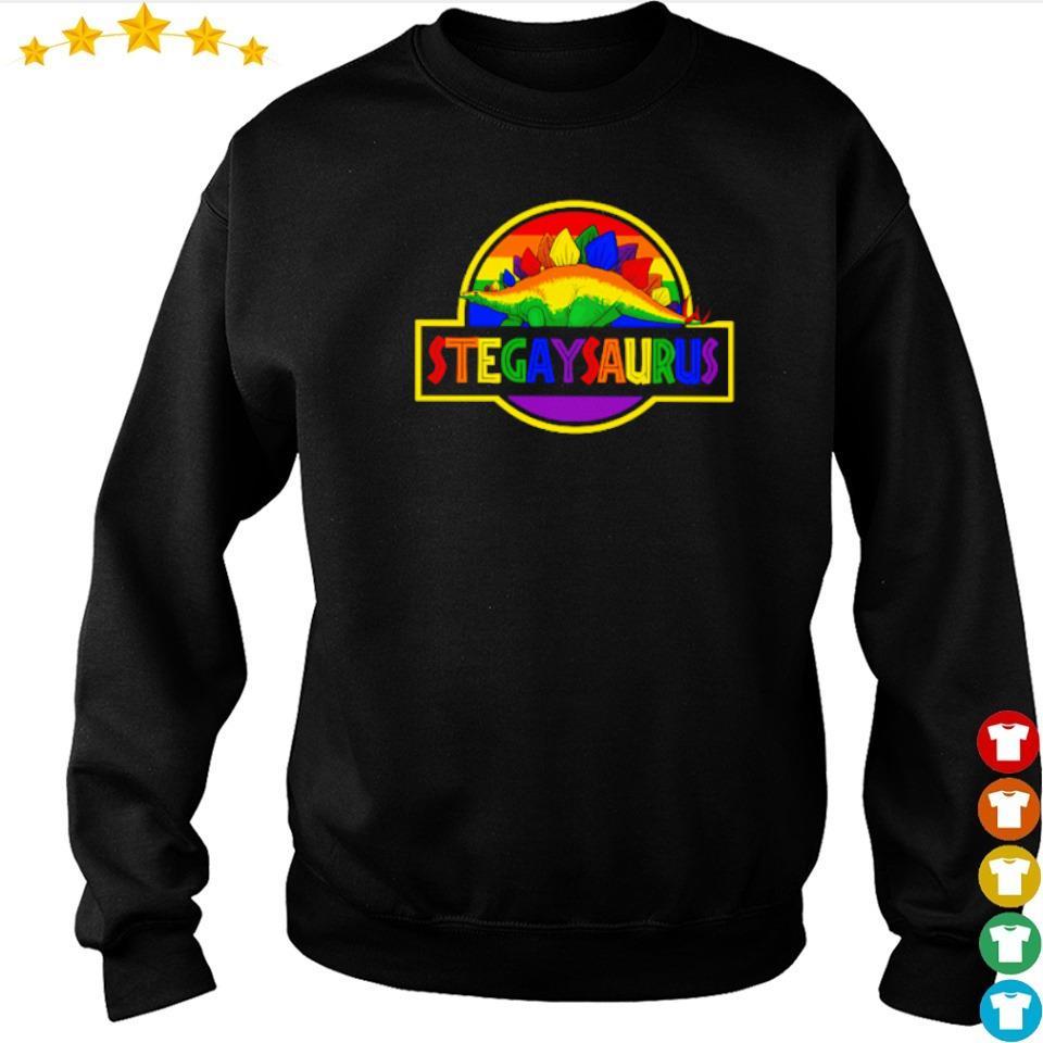 LGBT Stegaysaurus s sweater
