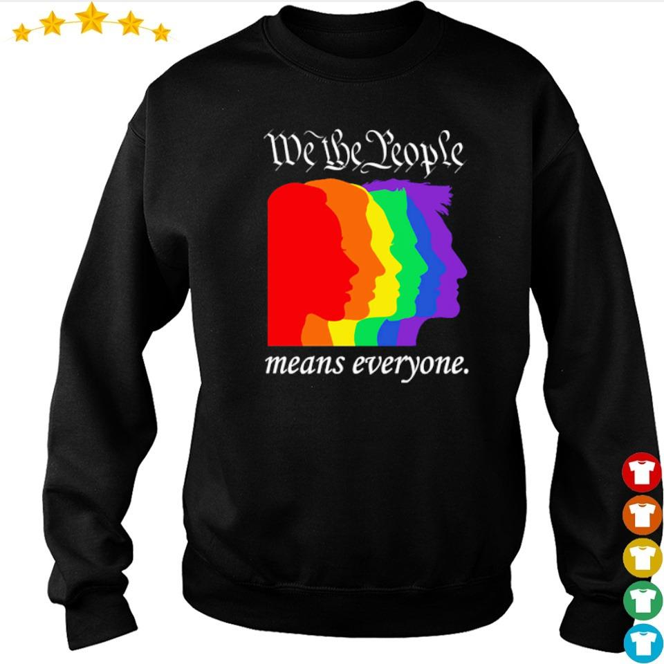 LGBT we the people means everyone s sweater