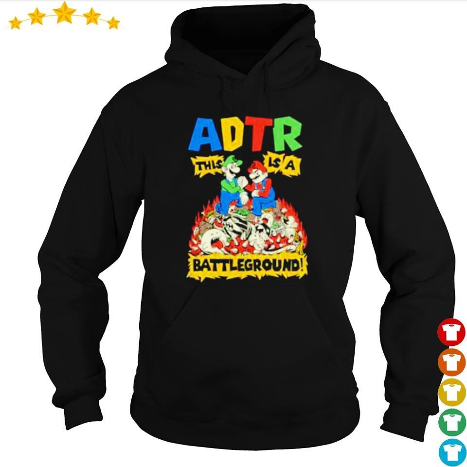 Mario ADTR This is a Batteground s hoodie
