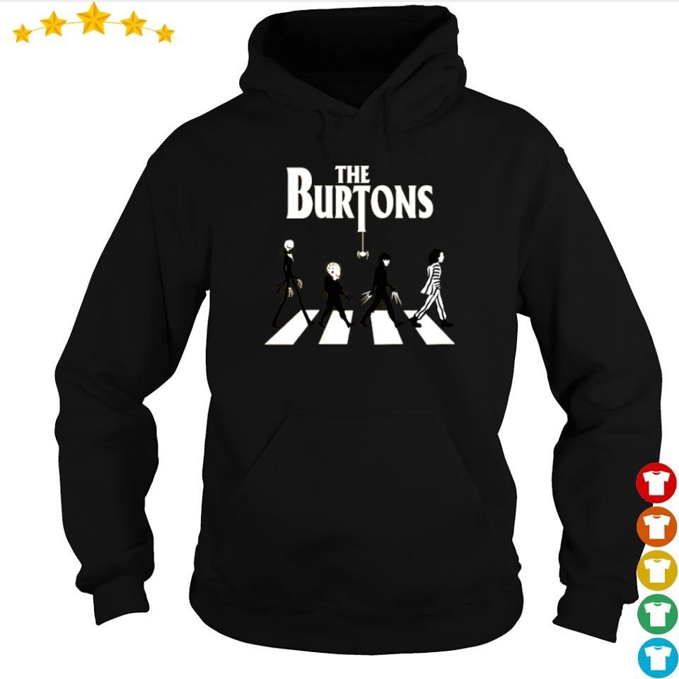 Movies lovers the Burtons Abbey Road s hoodie