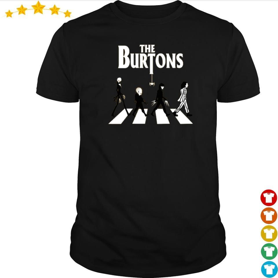 Movies lovers the Burtons Abbey Road shirt