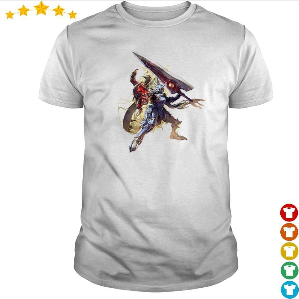 Nightmare from Soulcalibur VI Azure shirt