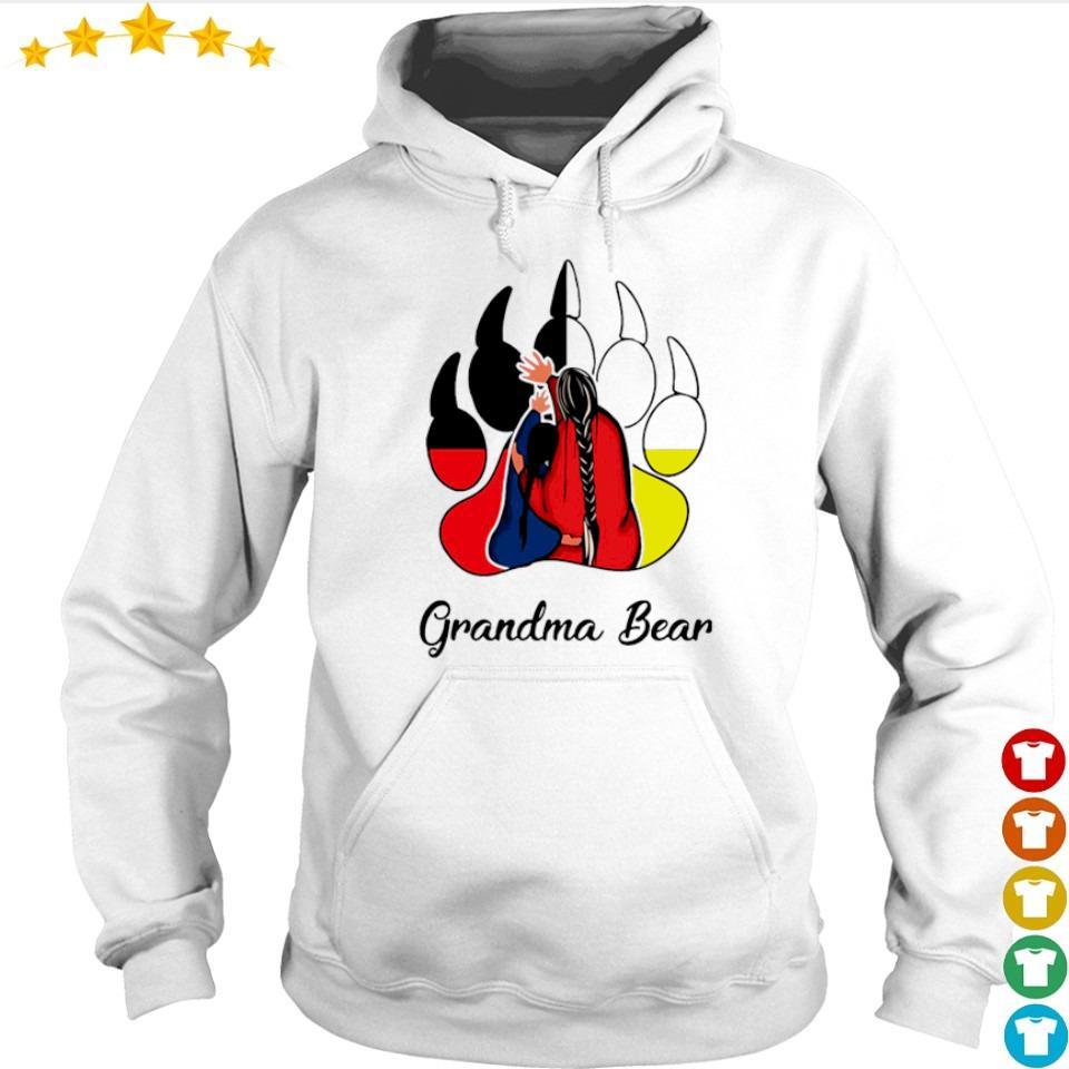 Official Grandma bear s hoodie