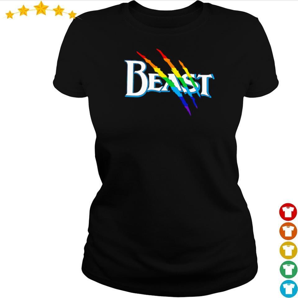 Official LGBT Beast s ladies tee