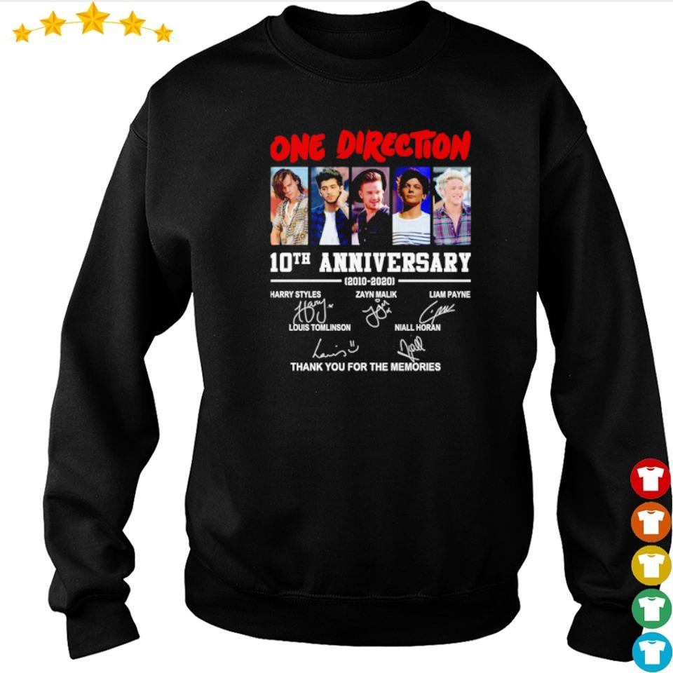 One Direction 10th anniversary thank you for the memories s sweater