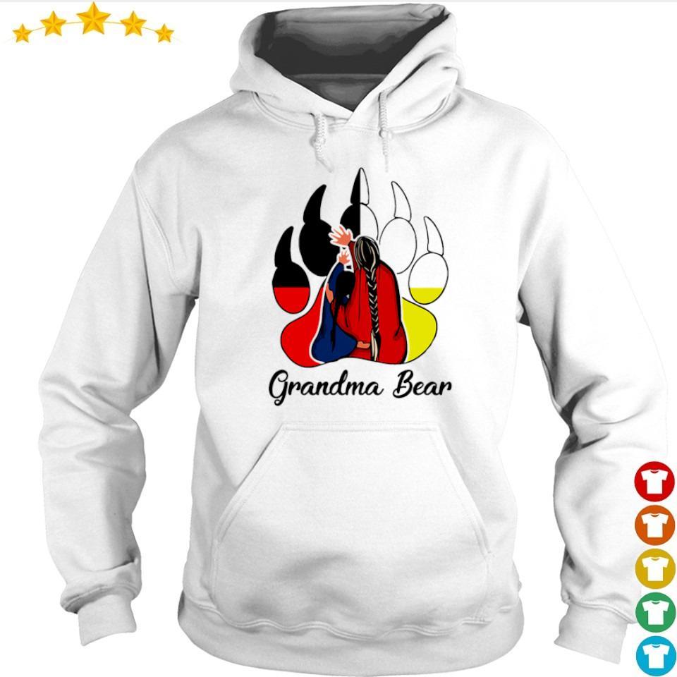 Red Indian Grandma bear s hoodie