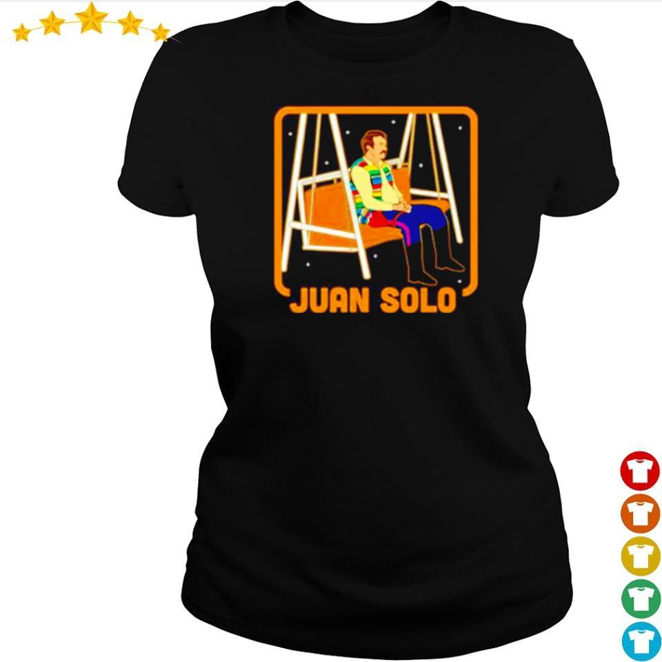 Sad Juan Solo s ladies tee