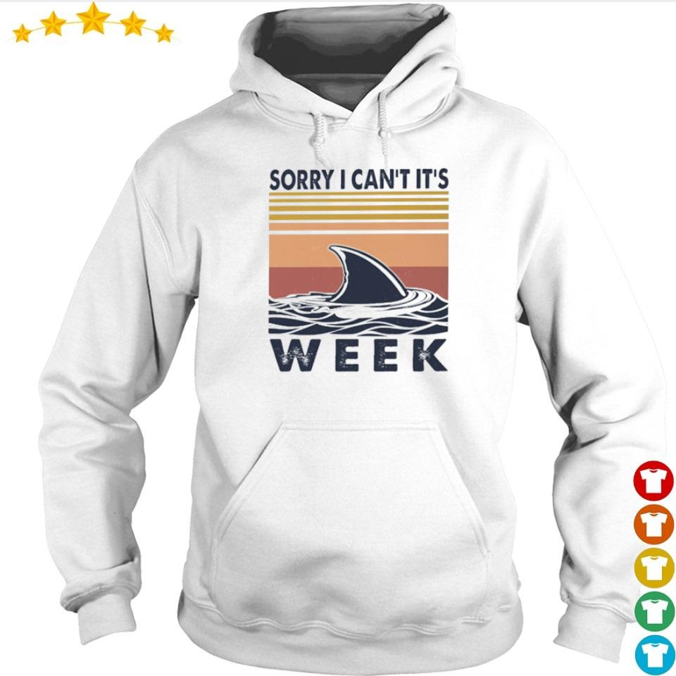 Shark sorry I can't it's week vintage s hoodie