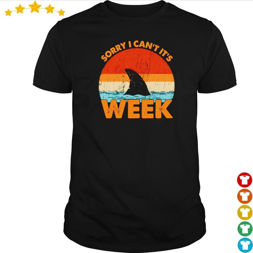 Shark sorry I can't it's week vintage shirt