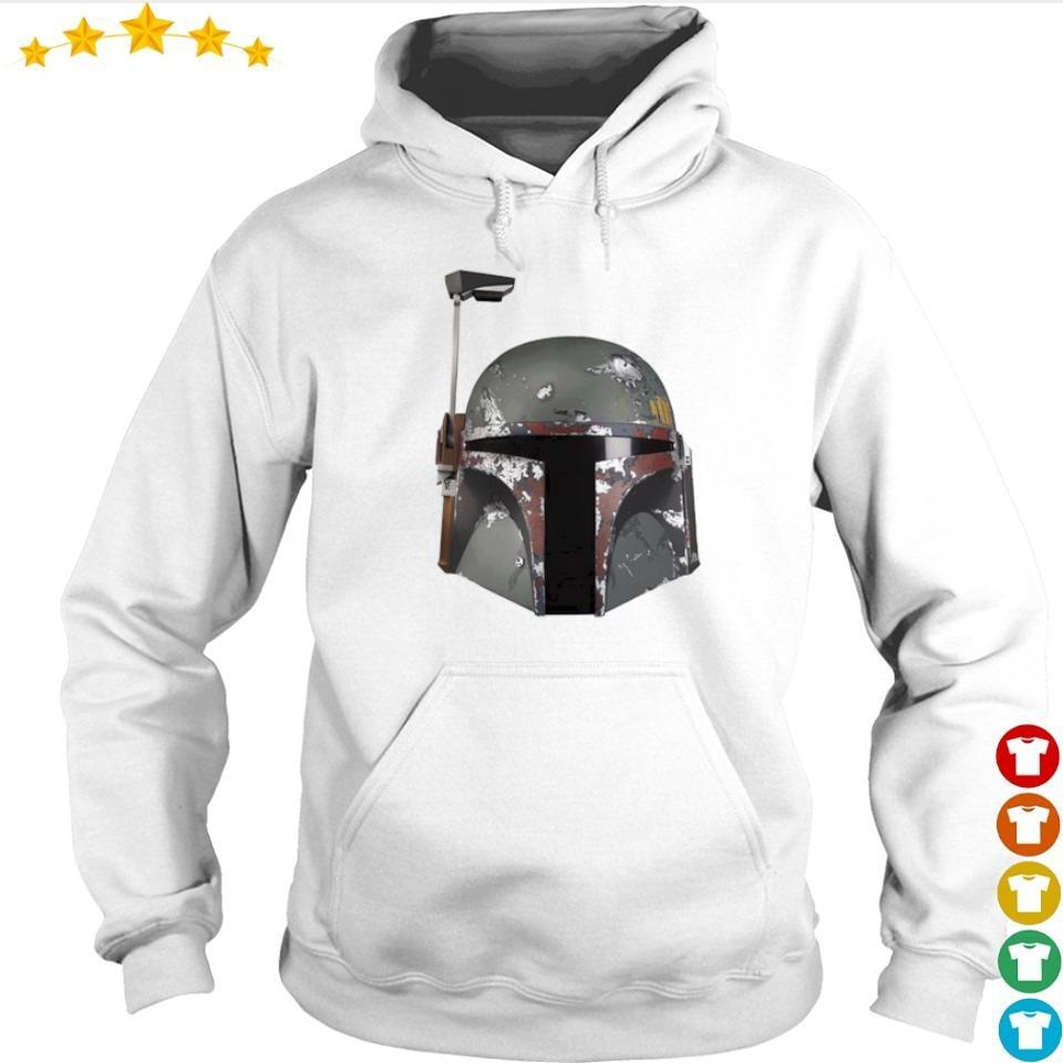 Star Wars Mandalorian helmet s hoodie