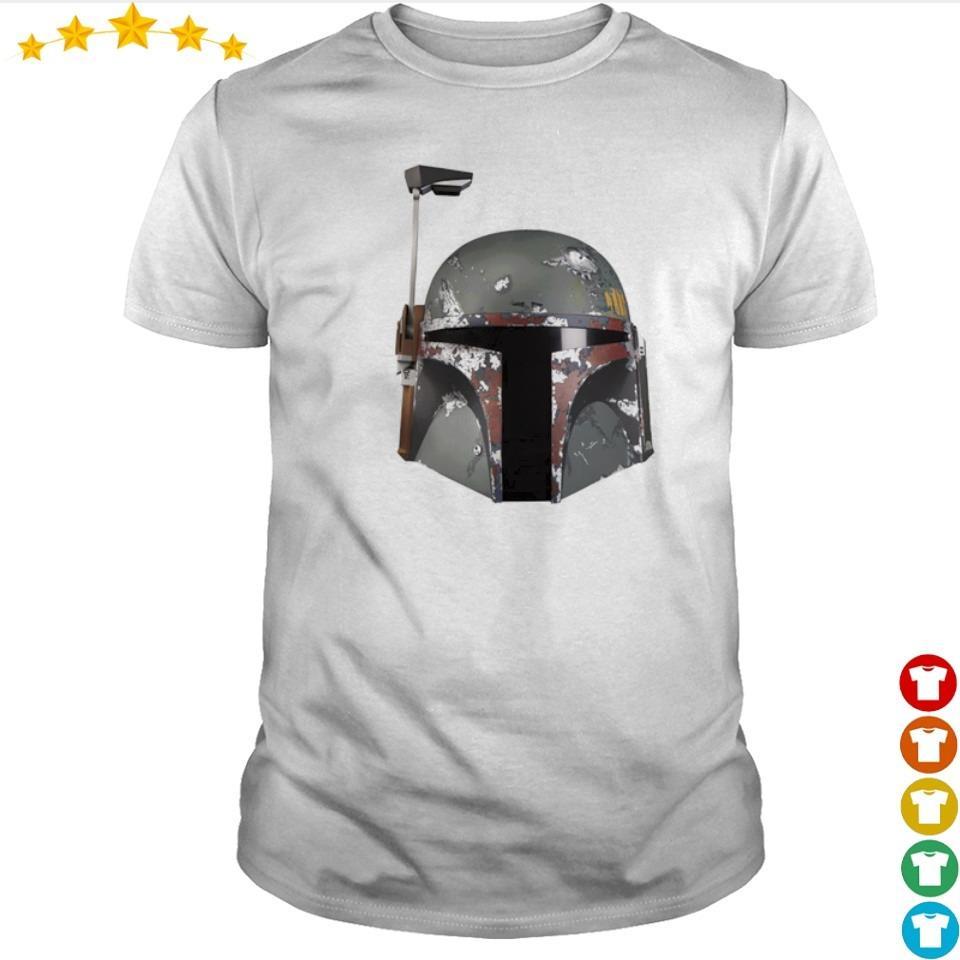 Star Wars Mandalorian helmet shirt