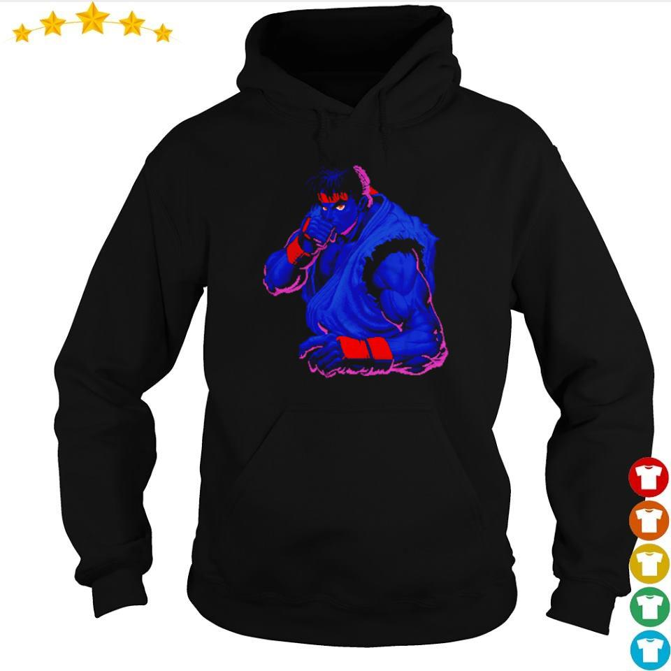 Street Fighter Black Ryu Dark Determination s hoodie