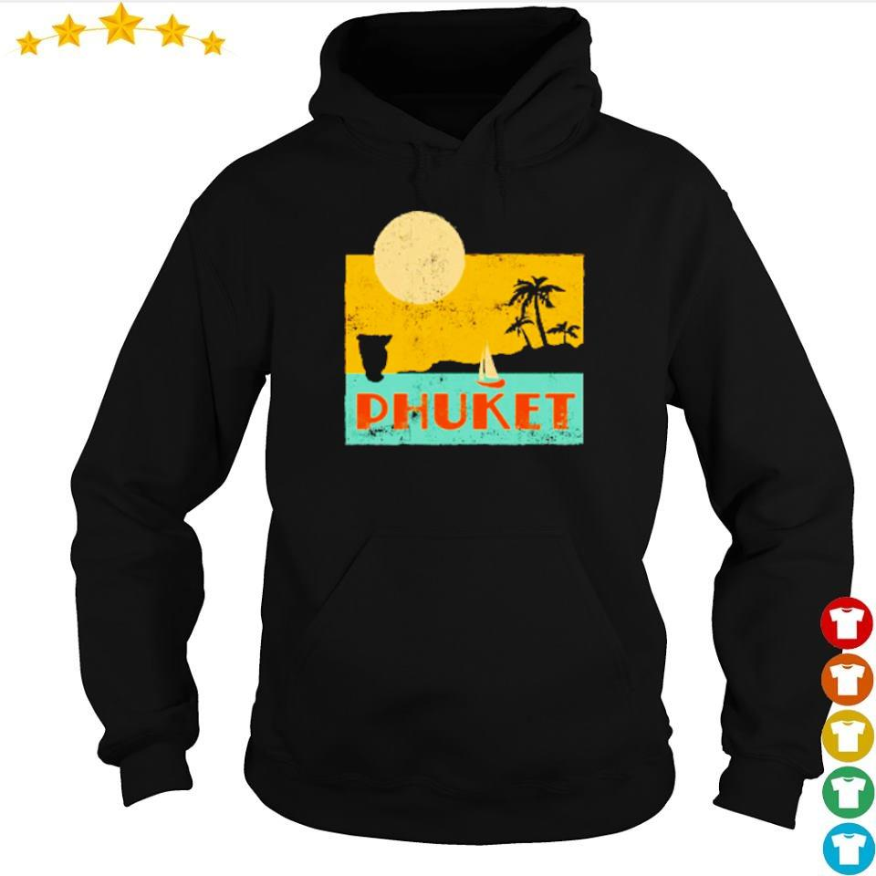 Sun beach and Phuket s hoodie