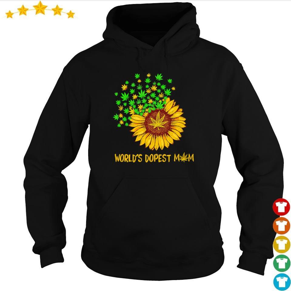 Sunflower World's dopest Mom s hoodie